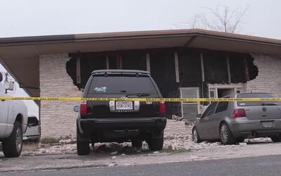 Una persona fue herida en una explosión de un edificio en Roundrock