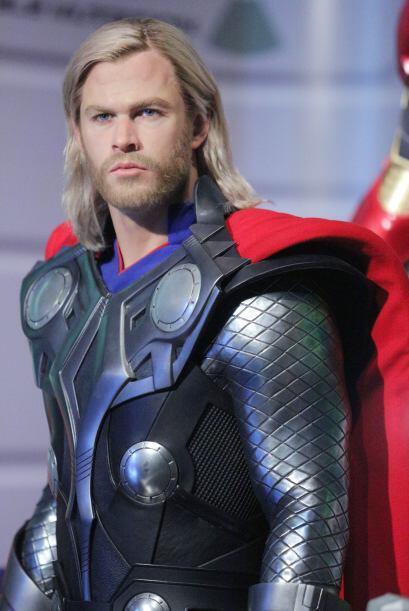 Lo mismo sucede con la de Thor. Chris Hemsworth debe estar impactado con...