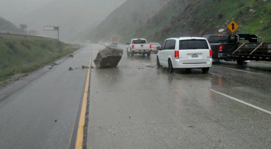 Lluvias en Los Angeles