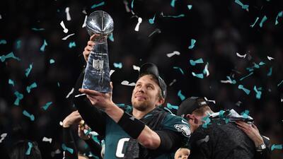 Un triunfo histórico: Eagles dan la sorpresa y se imponen 41-33 a los Patriots en el Super Bowl LII