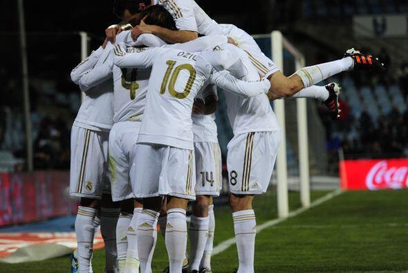 Real Madrid le ganó con lo justo al Getafe y sigue líder d...