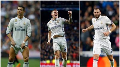 Este sería el once titular del Real Madrid para recibir al Bayern