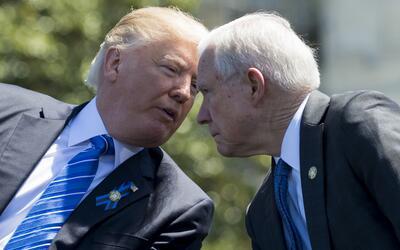 Trump lamenta que la separación con el Departamento de Justicia d...