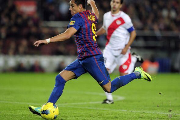 Con un 3 a 0 lapidario, el Barcelona se fue al descanso.