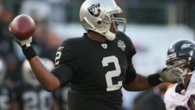 Russell lucía así hace tres años con los Raiders.