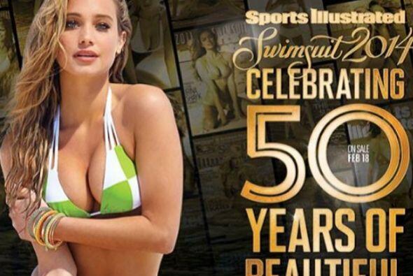Hannah promovió de esta manera la portada del año pasado.