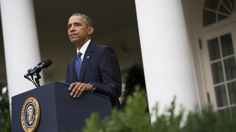 """Obama: """"El Affordable Care Act está aquí para quedarse"""" GettyImages-4786..."""