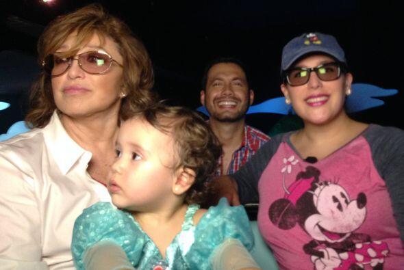 Angélica Masiel ya había estado en Disney, pero cada visita es como si f...