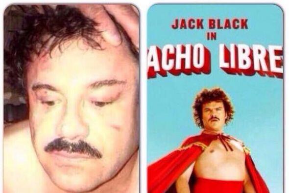 Otros compararon a El Chapo con el personaje de Nacho Libre.