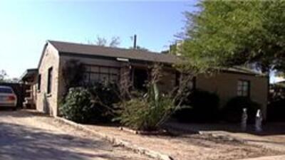 Casa donde ocurrio el incidente