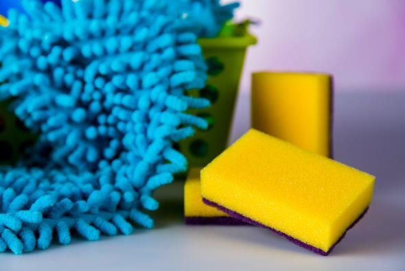 De las esponjas y estropajos tampoco te olvides, los estropajos sirven p...