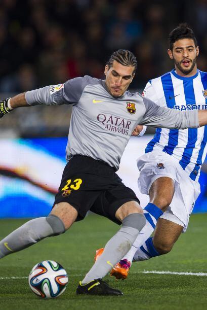 En el minuto 87 la Real logró el empate con un tanto del franc&ea...