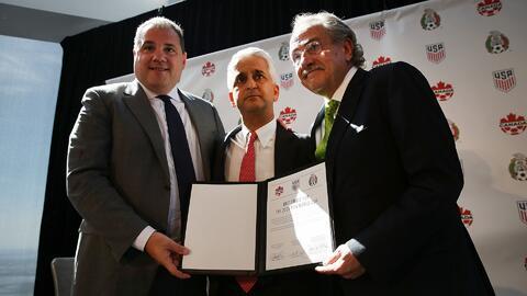 Estados Unidos, México y Canadá anuncian candidatura conjunta para el Mu...