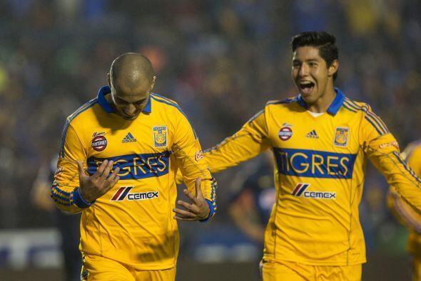 Guido Pizarro había puesto en ventaja a los regiomontantos con su gol al...