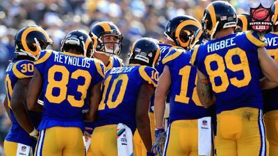 Los Angeles Rams usarán su uniforme retro en el Super Bowl LIII