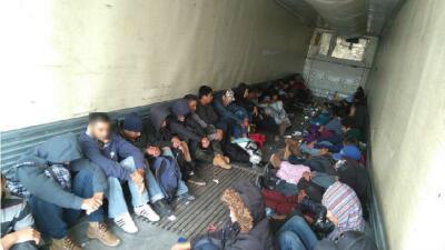 Se trata de 67 adultos, 36 menores de edad, de los cuales 12 no iban aco...