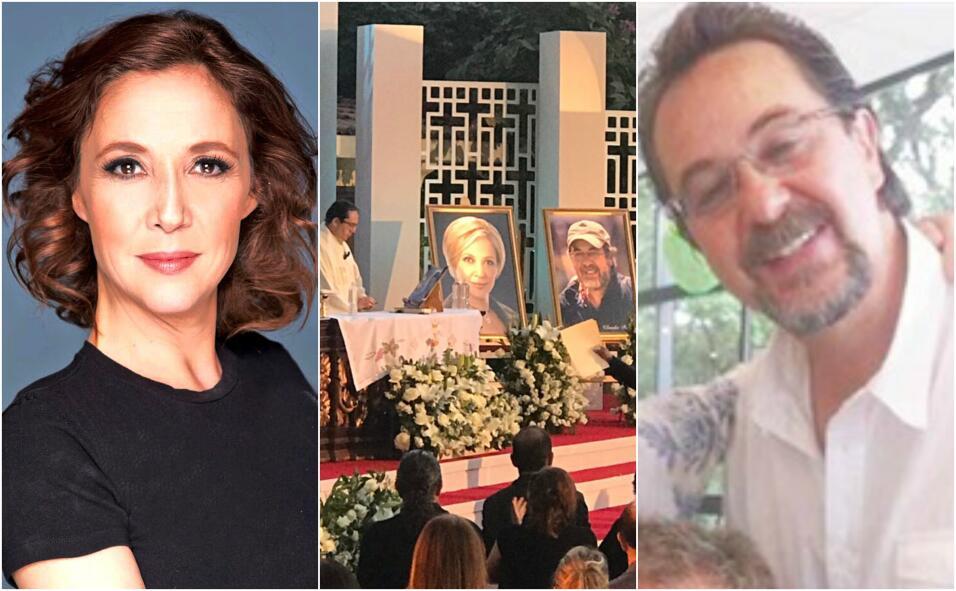Misa de despedida en Televisa para Maru Dueñas y Claudio Reyes Rubio