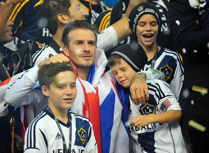 Desde Beckham al 'Diablo' Etcheverry, estas son las estrellas que alzaro...
