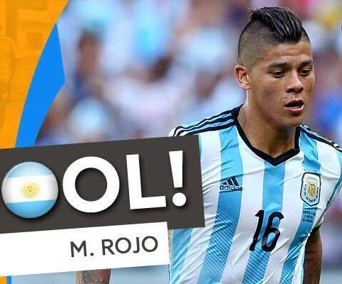 Marcos Rojo, el lateral izquierdo de la selección argentina, se ha desta...