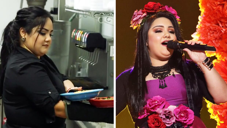 Sandra Padilla de mesera a reina