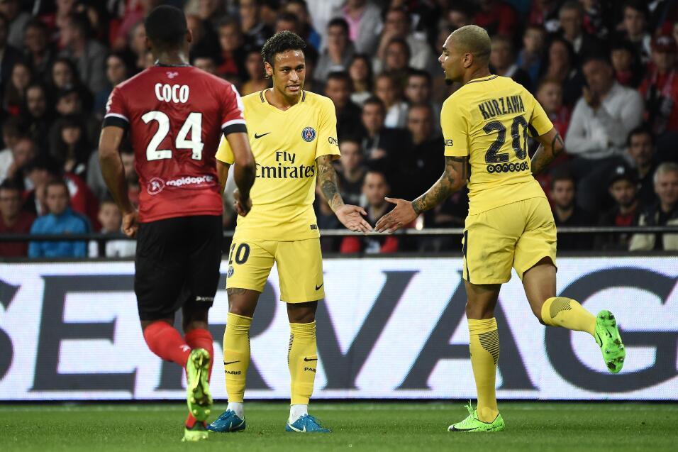 Neymar tuvo debut de ensueño en triunfo del PSG GettyImages-831094190.jpg