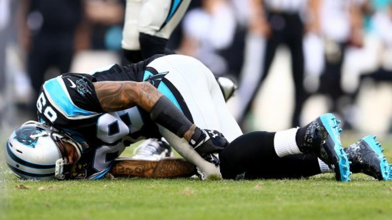 El receptor de los Panthers se lastimó en la victoria ante los Saints