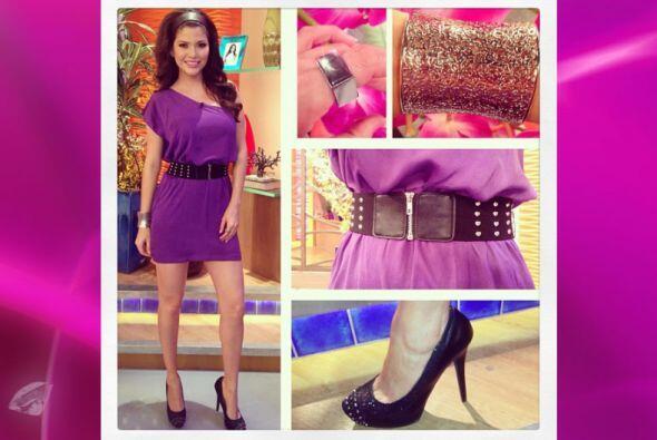 Cada mañana Ana se inspira para combinar zapatos, ropa, accesorios, maqu...