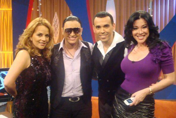 Elvis Crespo visitó Acceso Máximo y los conductores estuvieron felices p...