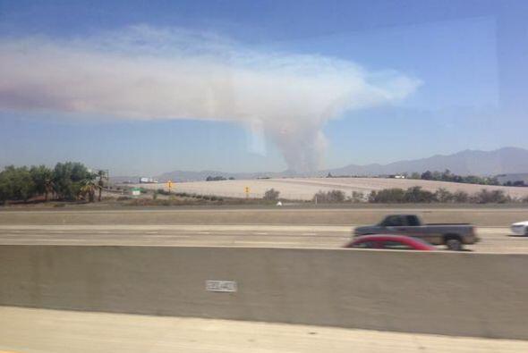 Algunos fuegos ya han sido contenidos, sin embargo entre la destrucción...