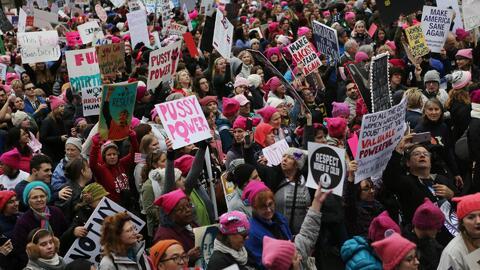 ¿Que significado tuvo la marcha del 21 de enero en Washington DC?