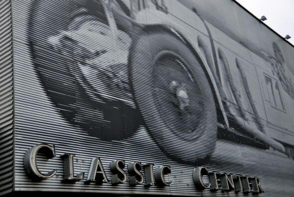 Classic Center Mercedes-Benz en Stuttgart, Alemania, donde se almacenan,...