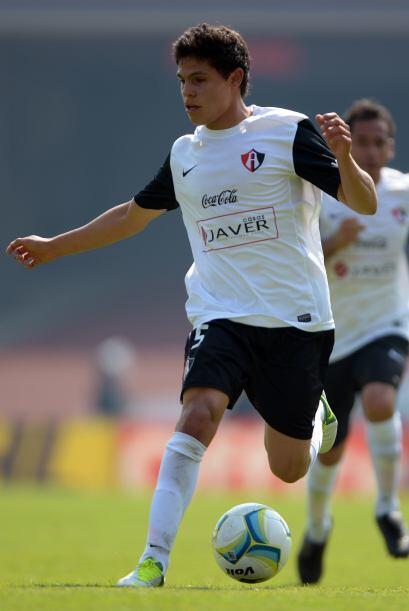 Al volver Tomás Boy en el Clausura 2013, el joven de 19 años de edad rec...