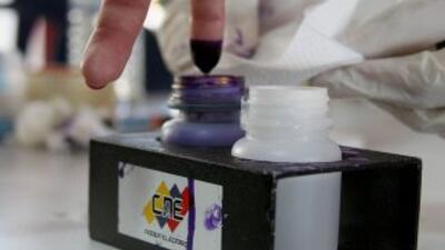 Elecciones Venezuela (Imagen de archivo)