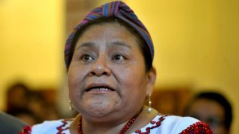 La Premio Nobel de la Paz, Rigoberta Menchú, estará en Colombia en la li...