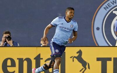 Miguel Camargo se estrenó como goleador en NYCFC.