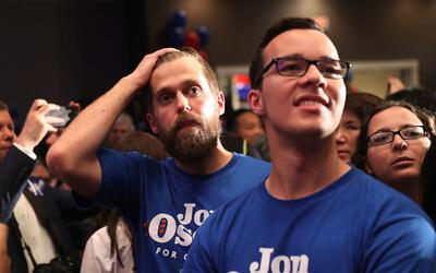 La derrota de Ossoff en Georgia desmoralizó a muchos activistas l...