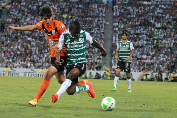 Darwin Quintero (6): Se asoció cuando pudo con Oribe Peralta. El delante...