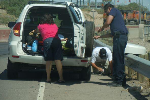 Los controles de seguridad son moneda corriente en esta ciudad mexicana...