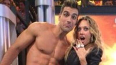 Se conocieron cuando Lenny concursaba en el programa Bailando Por Un Sueño.