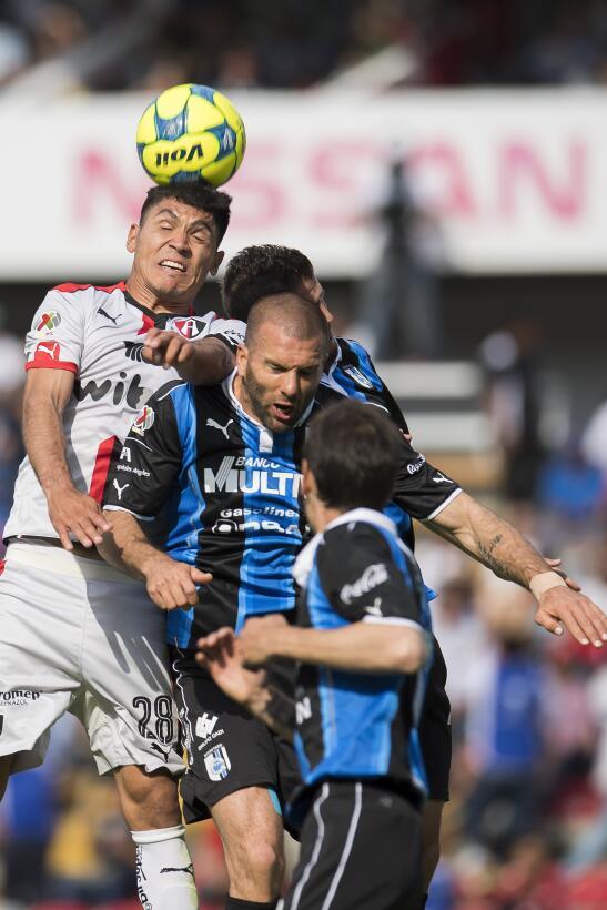 Atlas golea a domicilio y se mete a puestos de Liguilla Martin Barragan...