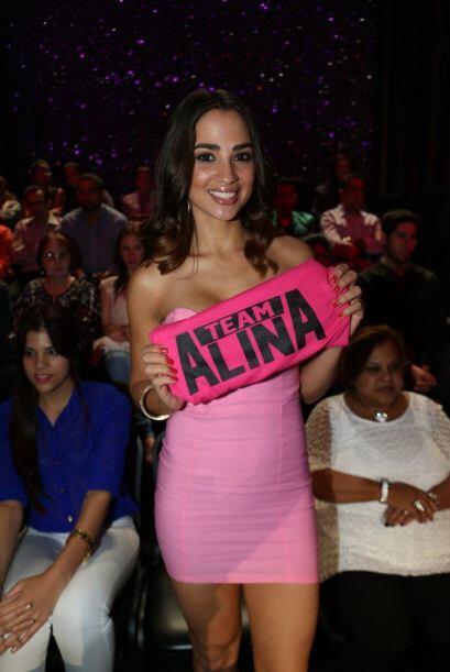 Jenny Arzola, quien también participó en Nuestra Belleza,...