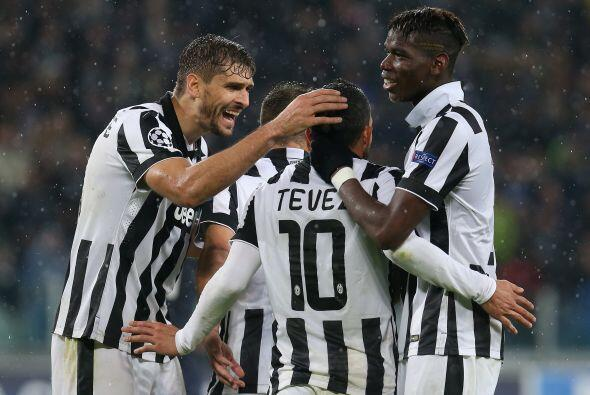 Por su parte Juventus se llevó un pequeño susto ante Olympiacos, pero al...