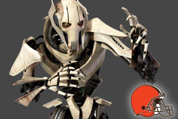 Pick 12. Cleveland Browns -- General Grievous.