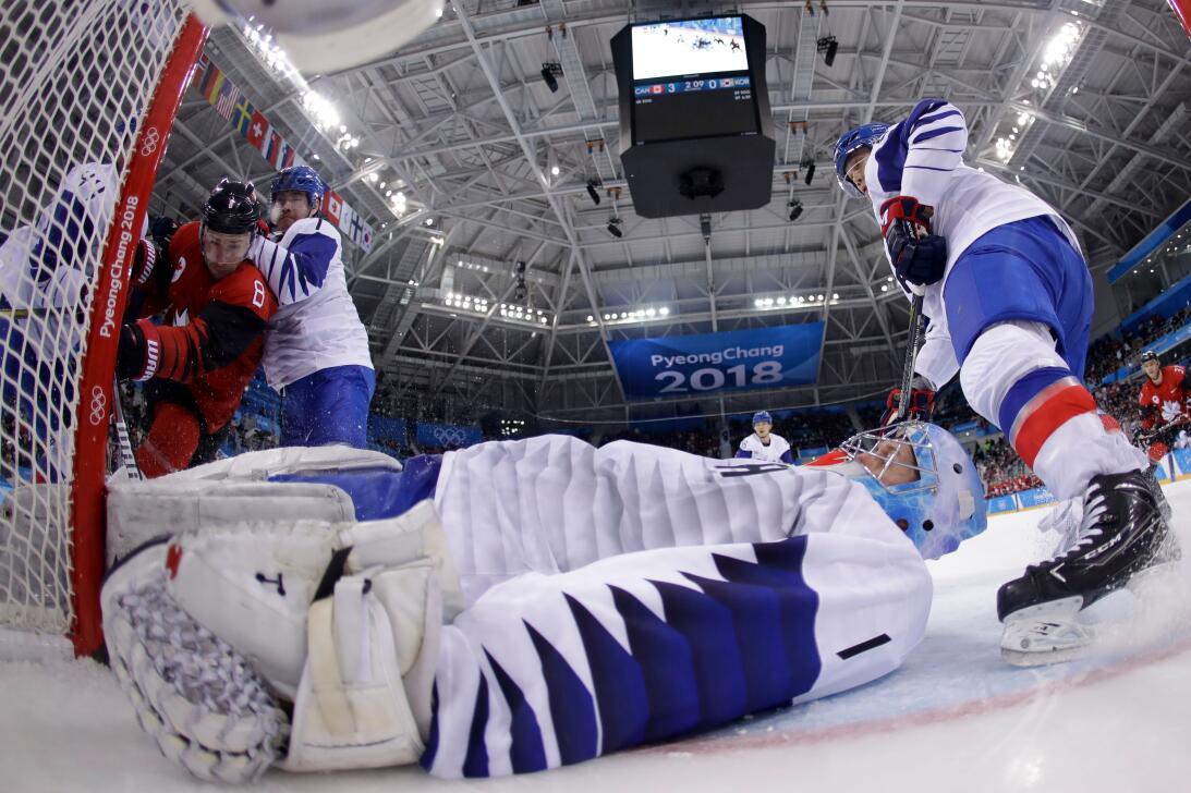 Pyeongchang 2018: Los resultados de la jornada canada-korea.jpg