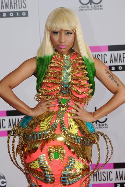Todo el mundo sabe que Nicki Minaj es el monumento humano de la extravag...