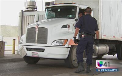 ¿Cómo evitan el contrabando de drogas en la frontera de TX?
