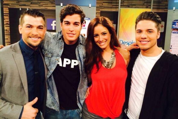 Aleyda Ortiz, actual reina de Nuestra Belleza Latina, se encontró a Dani...