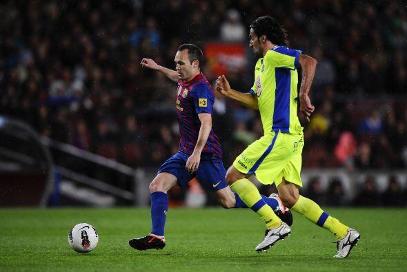 Iniesta junto a Xavi fueron de lo mejor en el equipo culé.
