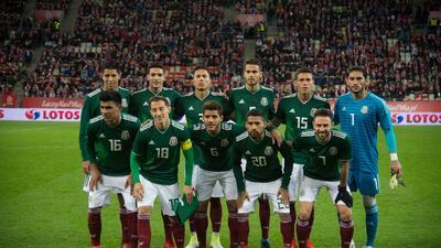 Los números que usarán los 23 mexicanos en el Mundial de Rusia 2018