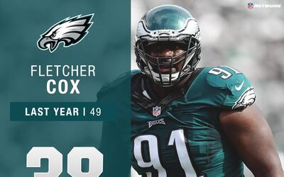 #38: Fletcher Cox (DT, Eagles) | Top 100 Jugadores 2017